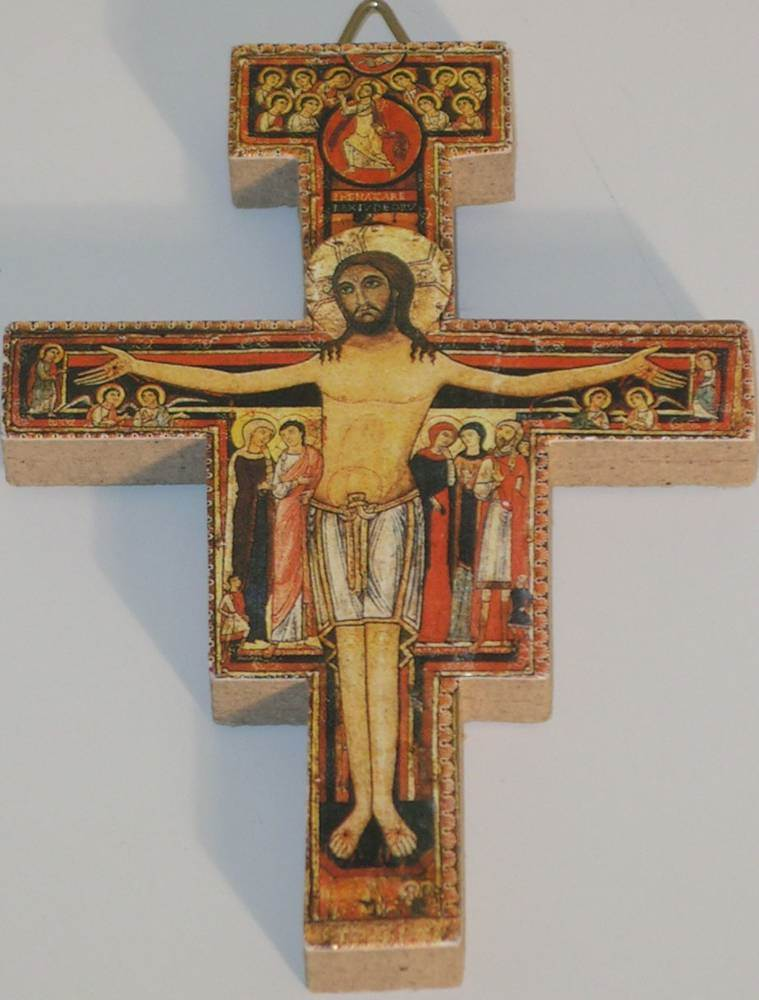 San Damiano Cross wall cross, italian cross, san damiano cross,