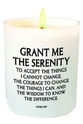 Serenity Prayer Candle