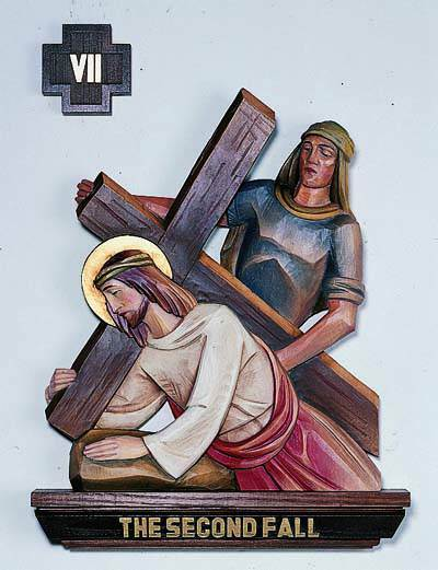 Set of 14 Stations of the Cross - DM1324