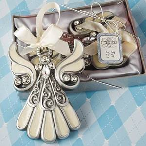 Shimmering Angel Ornament Keepsake