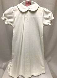 Short Sleeve Gown and Bonnet