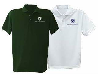 Unisex Short Sleeve Performance Knit Polo with SJM Embroidered Logo
