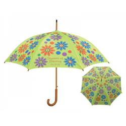 Showers of Blessing Green Umbrella