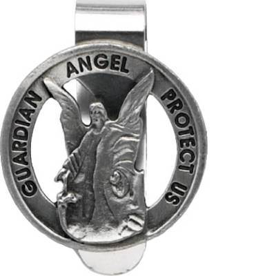 New Driver Guardian Angel Keychain With Protect Me Charm
