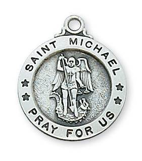 Silver St. Michael Medal