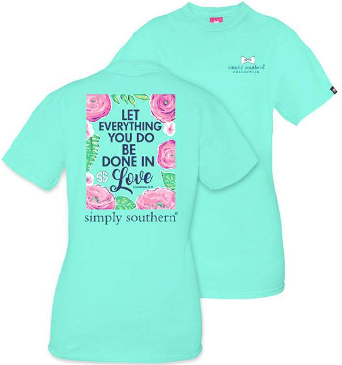 Done in Love Simply southern Shirt
