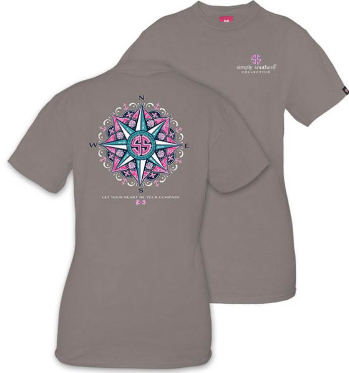 Your compass Simply Southern Shirt