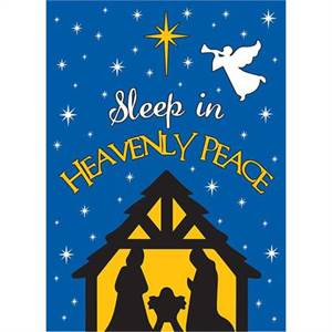 FLAG DAPP HEAVENLY PEACE, GARDEN - 13 inches by 18 inches