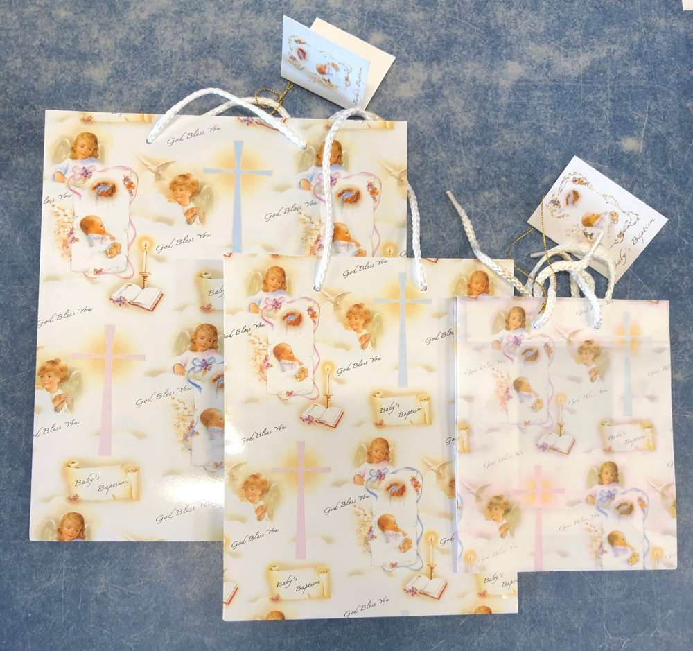 Small Baptism Gift Bag