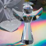 Small Crystal Angel Figurine