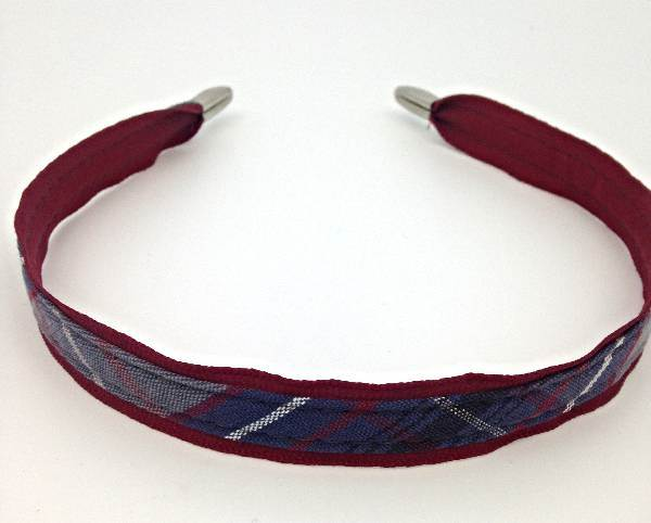 Small Narrow Regular covered Headband #53