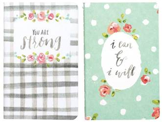 Small Notebook Set - You Are Strong I Can & I Will