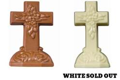 Solid Chocolate Crosses gift, first communion gift, chocolate cross, chocolate gift, boy gift, girl gift, favor gift, special occasion gift, confirmation, RCIA, Easter gift, Christmas gift,