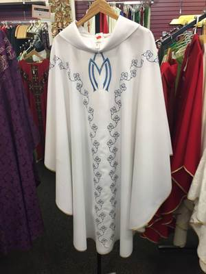 Solivari Marian Chasuble Primavera Fabric, From Italy