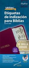Spanish Bible Indexing Tabs