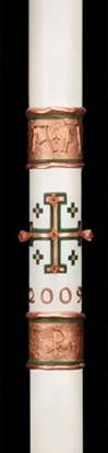 Spirit of Jerusalem Paschal Candle