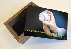 Sports Keepsake Box-Baseball