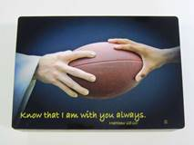 Sports Keepsake Box-Football