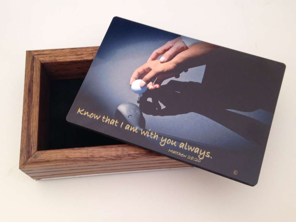 Sports Keepsake Box-Golf