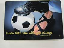 Sports Keepsake Boxes-Soccer