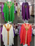 St. Andrew Cross Chasuble with Medallion