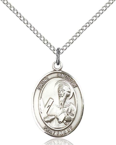 St. Andrew The Apostle Patron Saint Necklace