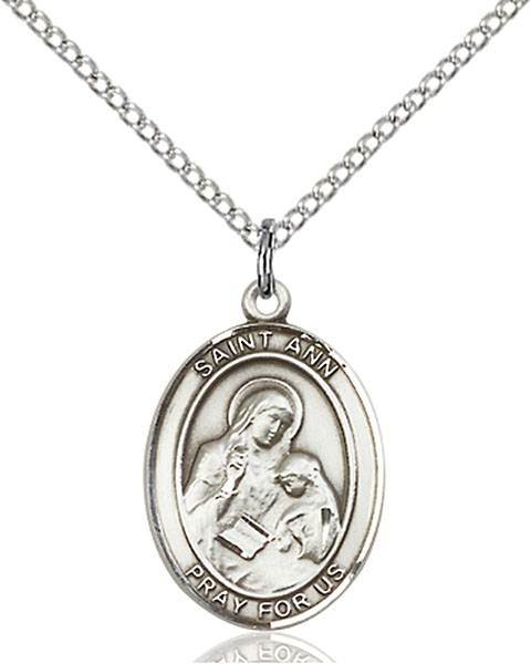 St. Ann Patron Saint Necklace