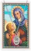 St. Anne Pendant and Holy Card Set