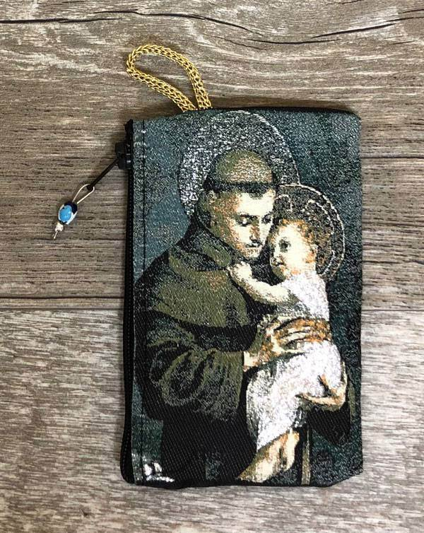 St. Anthony Rosary Pouch from Turkey
