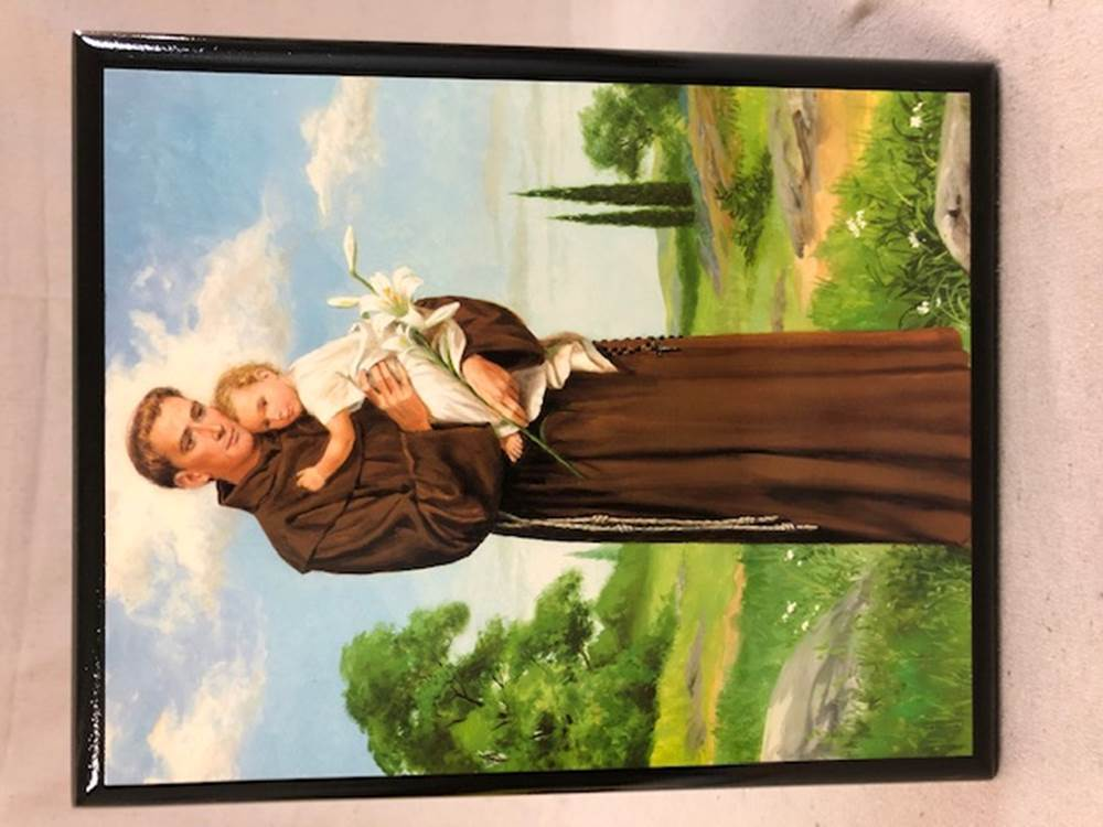 St. Anthony Wall Plaque | CATHOLIC CLOSEOUT
