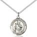 St. Augustine Necklace Sterling Silver