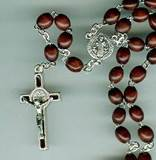 St. Benedict Brown Rosary