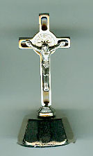 St. Benedict Dashboard Crucifix