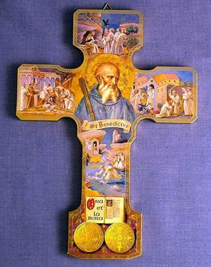 St Benedict Icon Cross