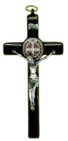St. Benedict Wall Cross, 7 inch