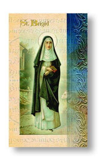 St. Brigid Biography Card