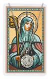 St. Brigid Pendant & Holy Card Set
