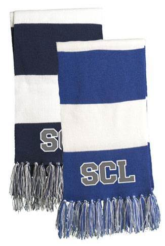 St. Catherine Laboure Spectator Scarf w/Embroidered Logo