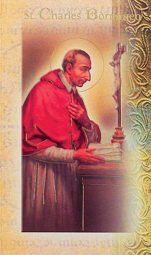 St. Charles Borromeo Biography Card