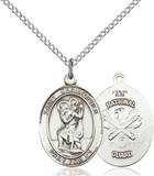 St. Christopher / National Guard Pendant