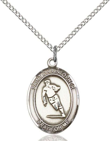 St. Christopher / Rugby Pendant