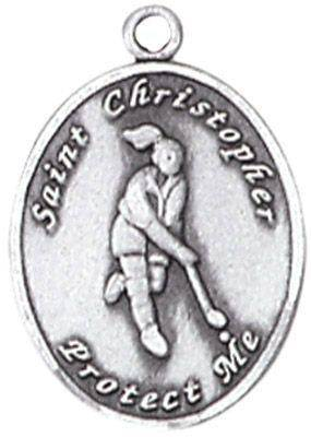 St. Christopher Sports Medals-Field Hockey