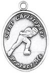 St. Christopher Sports Medals-Rollerbalding (Women) *WHILE SUPPLIES LAST (NOT DISC)*