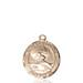 St. Christopher Necklace Solid Gold