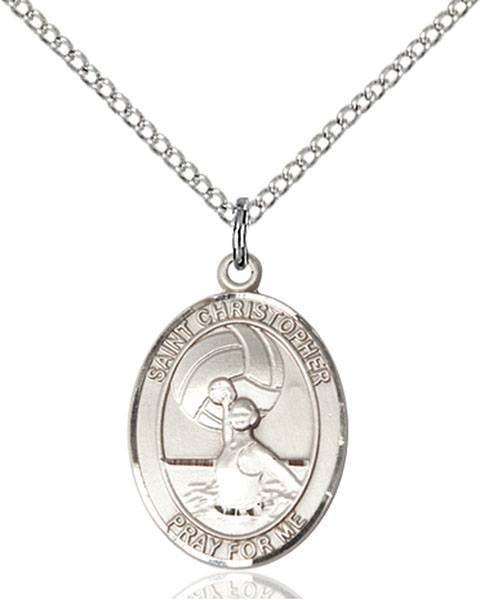 St. Christopher / Water Polo Women Pendant