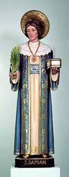 St. Damian Statue