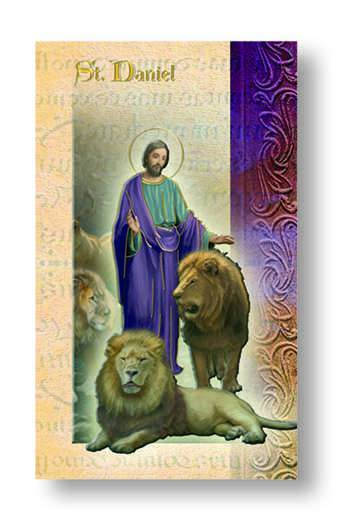 St. Daniel Biography Card