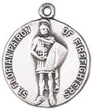 St. Florian Medal on Chain