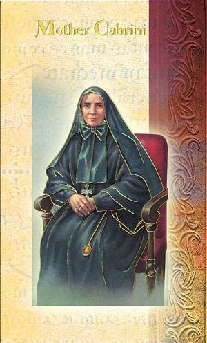 St. Frances Cabrini Biography Card