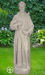 "St. Francis 24"" Statue, Granite Finish"
